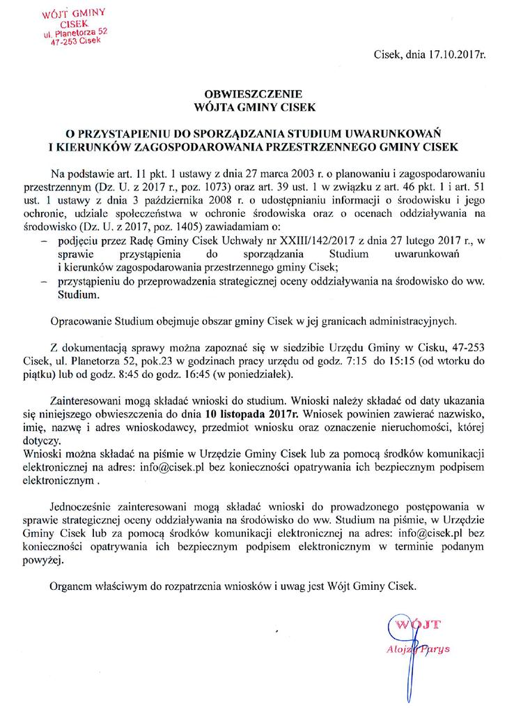 Obwieszczenie_WG_Cisek_Studium.png